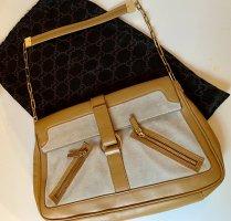 Original Gucci Luxus Tasche Schultertasche aus  Leder wie neu !