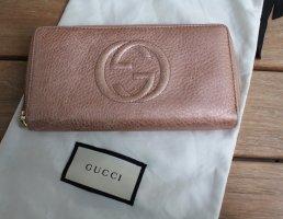 original Gucci ♥️ Portemonnaie rosa breit Leder Vintage
