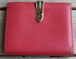 Gucci Portemonnee rood Leer