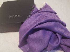 Gucci Sciarpa di seta lilla