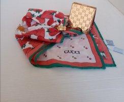Gucci Schoudersjaal wit-rood