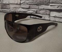 Original Gucci Sonnenbrille Oversize GG 2535 Strass AD6 braun