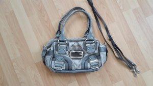 Original Guess Tasche I Silber Grau I Handtasche I Umhängetasche