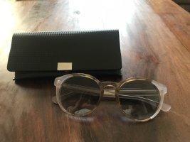 Hugo Boss Panto Glasses dusky pink