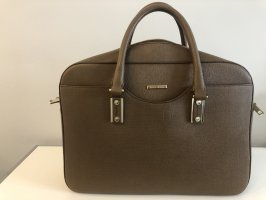 Hugo Boss Laptoptas cognac Leer