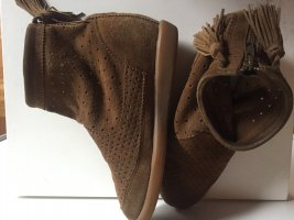 Isabel Marant Étoile Heel Sneakers bronze-colored leather