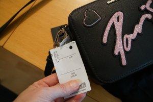 Karl Lagerfeld Handbag black-pink
