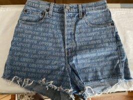 Levi's Shorts grigio ardesia-azzurro