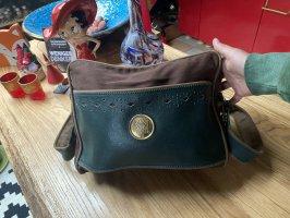 Original Loewe Tasche Umhängetasche teils Leder RAR