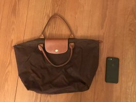 Longchamp Shopper dark brown-cognac-coloured