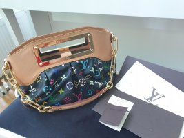 Original Louis Vuitton Black Monogram Multicolore Judy PM Tasche