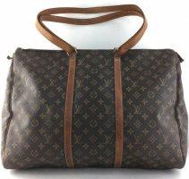 Louis Vuitton Shopper zwart bruin-cognac