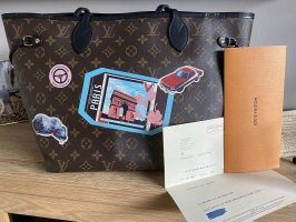 Original Louis Vuitton MM Neverfull Worldtour Edition