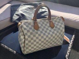 Original Louis Vuitton Speedy 30 Damier Azur