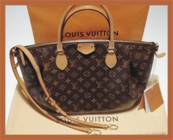 Original Louis Vuitton Turenne GM monogram Echtheitszertifikat