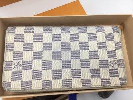 Original Louis Vuitton zippy Organiser Damier Azur