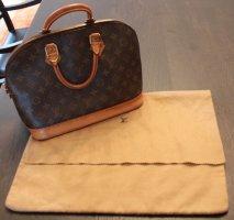 original LV Louis Vuitton Tasche Handtasche Alma Monogram braun