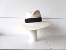 MAYSER Straw Hat white-black
