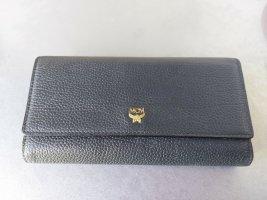Original MCM Geldbörse grau anthrazit passend zur Tasche Drawstring
