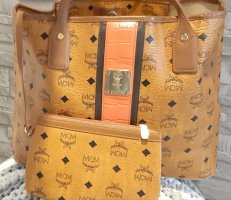 MCM Shoulder Bag brown-cognac-coloured