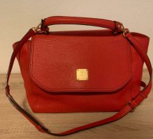 MCM Handbag red leather