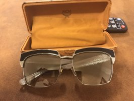 MCM Oval Sunglasses gold-colored