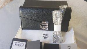 MCM Crossbody bag black-silver-colored