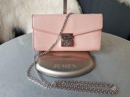 Original MCM Tasche Patricia Millie Wallet Geldbörse mit Schulterkette rosa