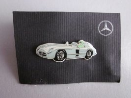 Mercedes Benz Collection Knoop veelkleurig Metaal