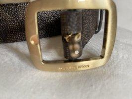 Michael Kors Cinturón de cuero de imitación multicolor
