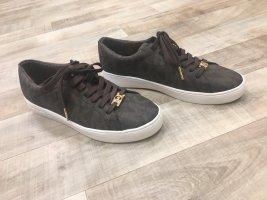 Michael Kors Basket à lacet brun-brun foncé