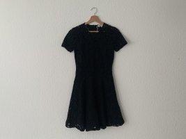 Original Michael Kors Spitzenkleid Kleid Minikleid Spitze Gr 0 (XS)