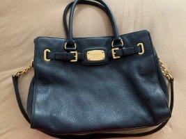 Original Michael Kors Tasche blau Leder