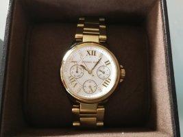 Original Michael Kors Uhr, MK5759, gold/weiss, NP: 249 Euro, TOP ZUSTAND
