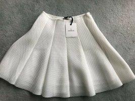 Moncler Circle Skirt white