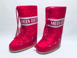 Original Moon Boots in rot