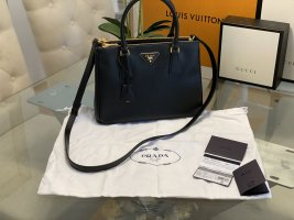Original Neu PRADA  Galleria Tote Bag Small Nero