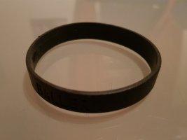 Original Nike Player Armband Wristband Silicone Wrist Band Rubber Bracelet / Unisex / schwarz / NEU