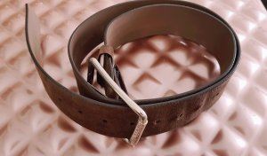 Patrizia Pepe Leather Belt brown