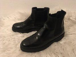 Prada Ankle Boots black leather