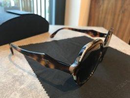 Prada Gafas de sol redondas marrón oscuro-marrón claro