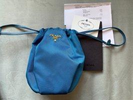 Prada Mini sac bleuet fibre synthétique