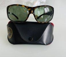 Ray Ban Gafas de sol ovaladas marrón oscuro-verde oscuro
