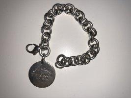 Original Return to Tiffany Charm-Armband mit rundem Anhänger