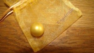 Original Schmuck Engelsrufer Klangkugel Gold. Gr, S