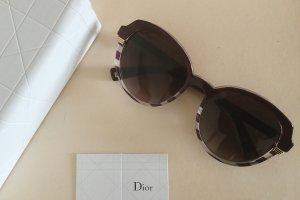 Dior Lunettes de soleil brun pourpre