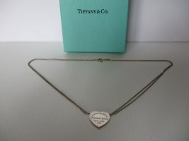 Original TIFFANY & CO Return to Tiffany Halskette 925 Silber.