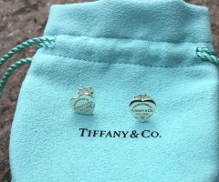Tiffany&Co Zilveren oorbellen zilver