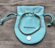 Tiffany&Co Brazalete de plata color plata