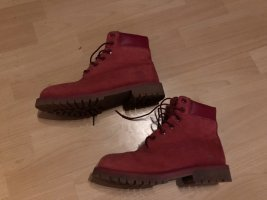 Original Timberland Boots Stiefel rot Gr. 38